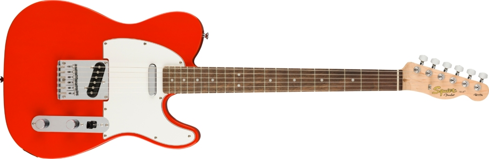 Squier Telecaster Affinity Fiesta Red