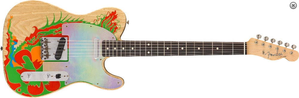 Telecaster Custom Shop Jimmy Page dragon